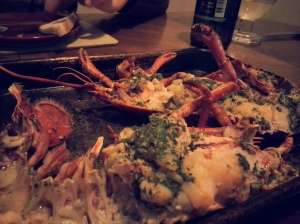 Lobster in Garlic Butter