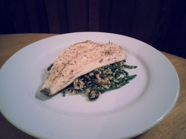 Sea Bream and Couscous