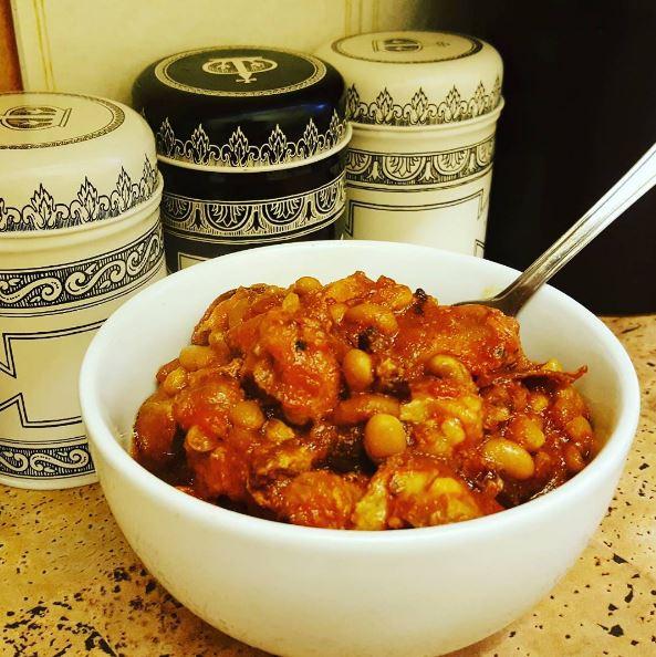 Pork and Chorizo Stew