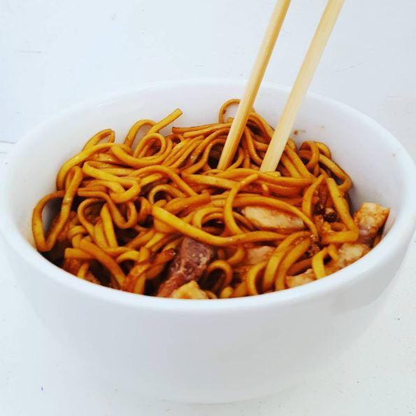 Swordfish Noodles