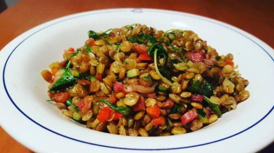 lentils-and-lardons