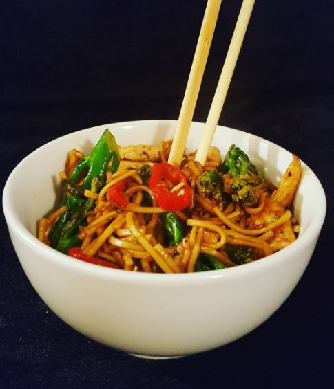 Chilli and Broc Noodles